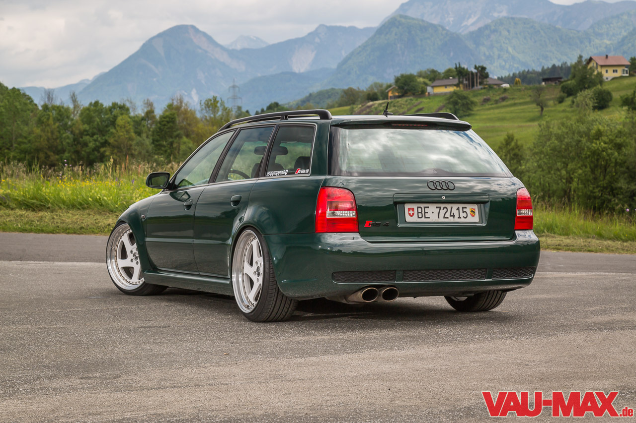 Audi Rs4 B5 Goodwood Green The Business
