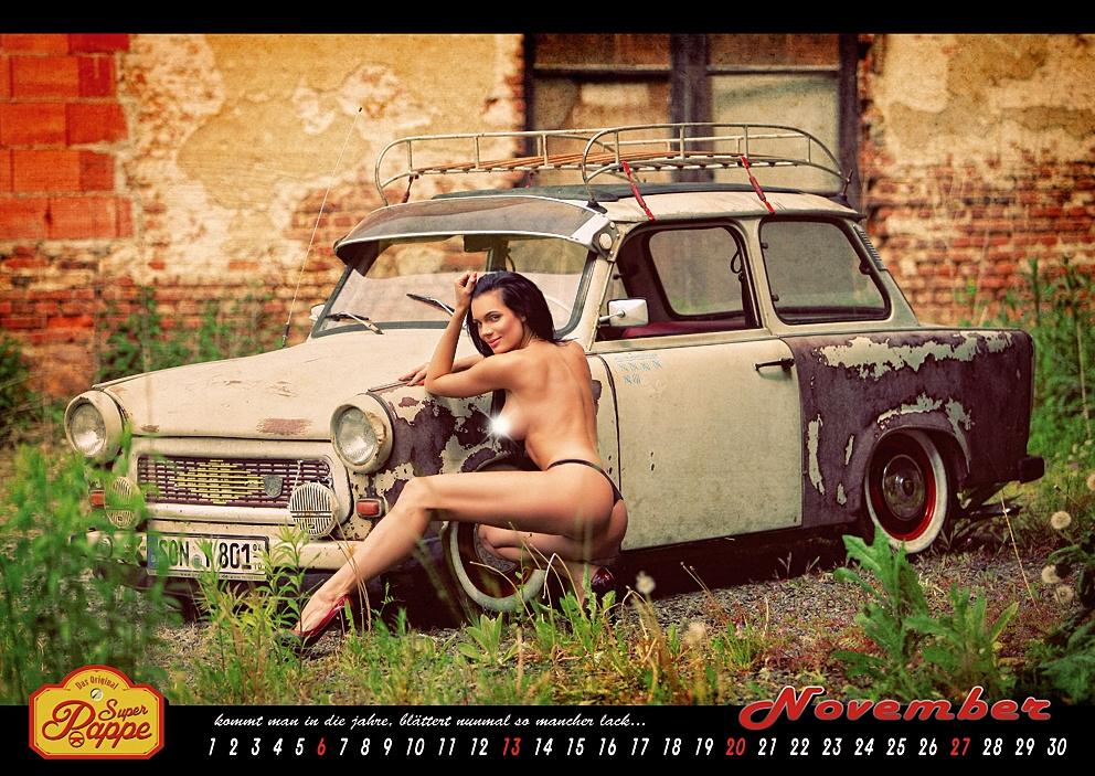 Der Offizielle Trabant Erotik Kalender Ab Sofort