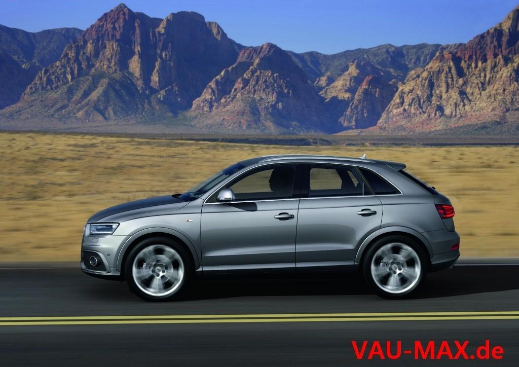 Der Neue Audi Q3 Erste Bilder Des Audi Auf Tiguan Basis