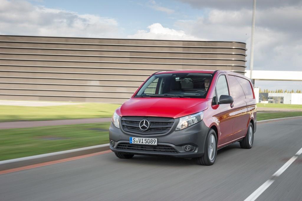 Erste Ausfahrt im neuen 2015er Mercedes Vito: Wie fährt er sich ...