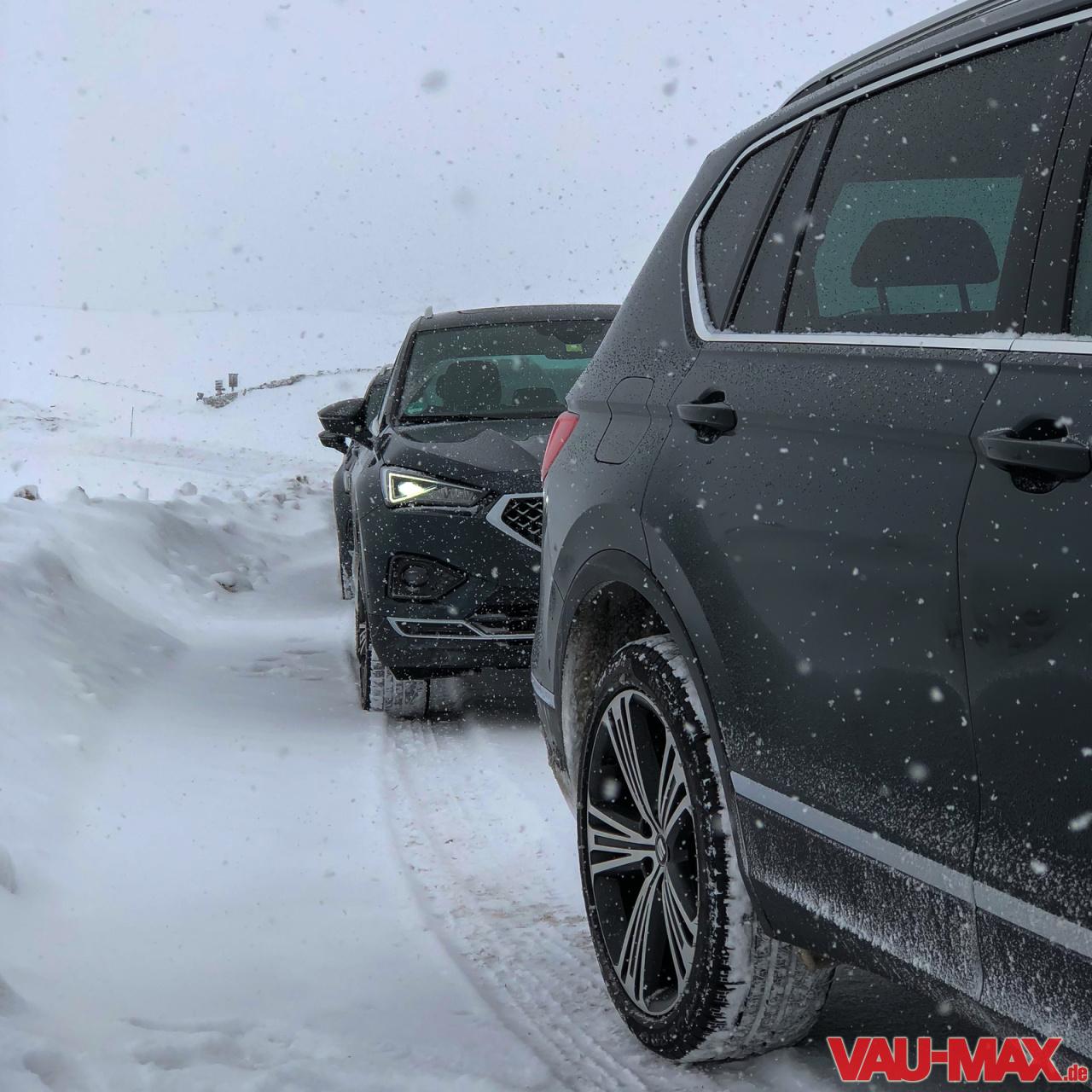 Softroader Oder Echtes SUV?: Unterwegs Bei Der Seat Snow