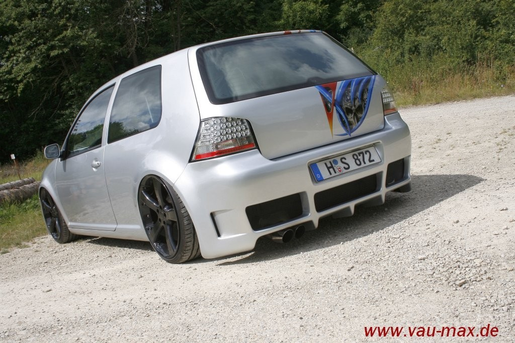 silver surfer de luxe golf 4 tdi 2001er golf 4 tdi macht auf dicke luft bilder lassen sich. Black Bedroom Furniture Sets. Home Design Ideas