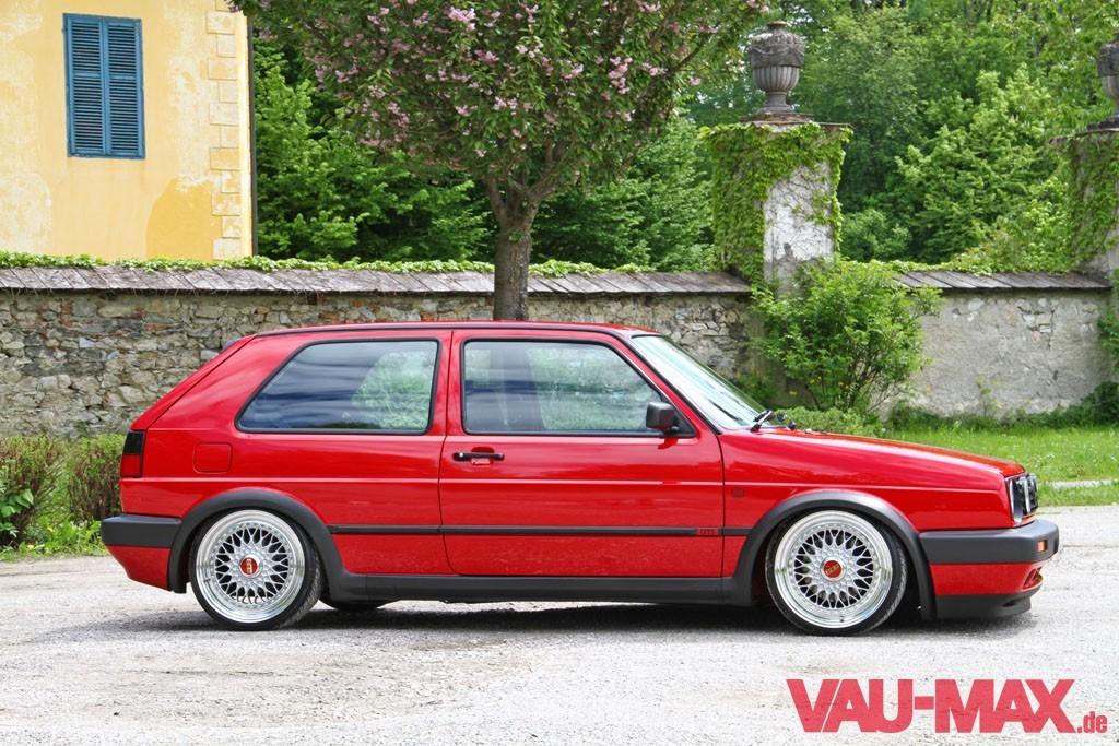 Alles Auf Rot Perfekter Golf 2 Mit Audi S3 Motorumbau