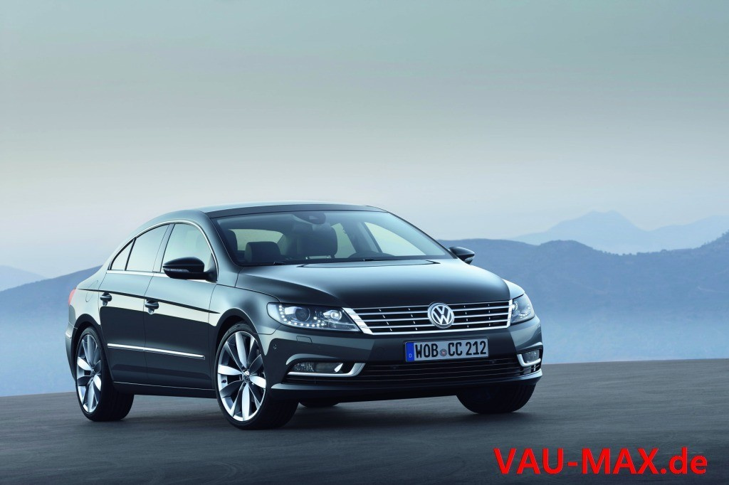 neuer vw passat cc facelift f rs passat coup frischer. Black Bedroom Furniture Sets. Home Design Ideas