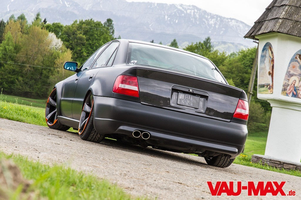 Audi Rs4 Look An Der Supertiefen B5 Limousine Hast Du