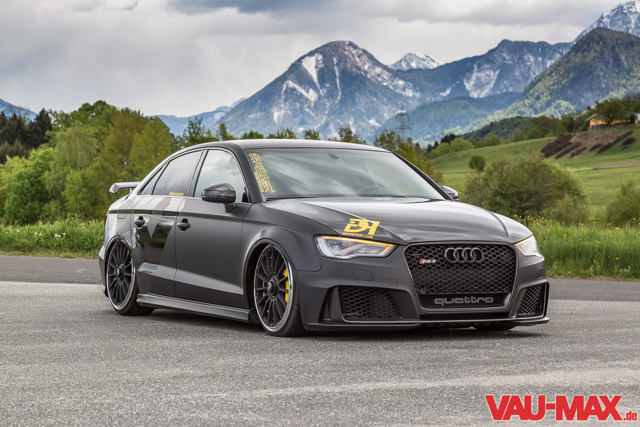 Mehr Als Nur 3f The One And Only Audi Rs3 Limousine