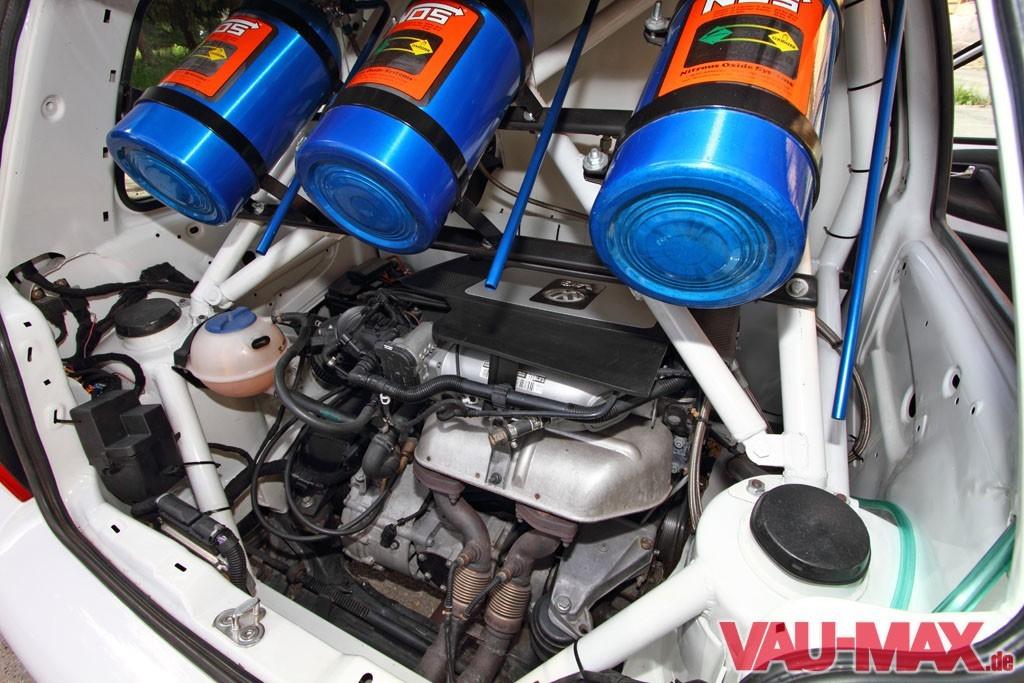 Die Kraft Der Zwei V6 Herzen Vw Lupo Mit W12 Und Lachgas Power