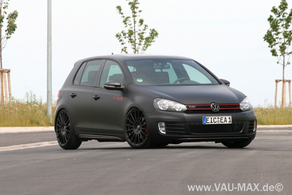 exklusiv golf 6 gti tuning black series gti 6 schwarz. Black Bedroom Furniture Sets. Home Design Ideas