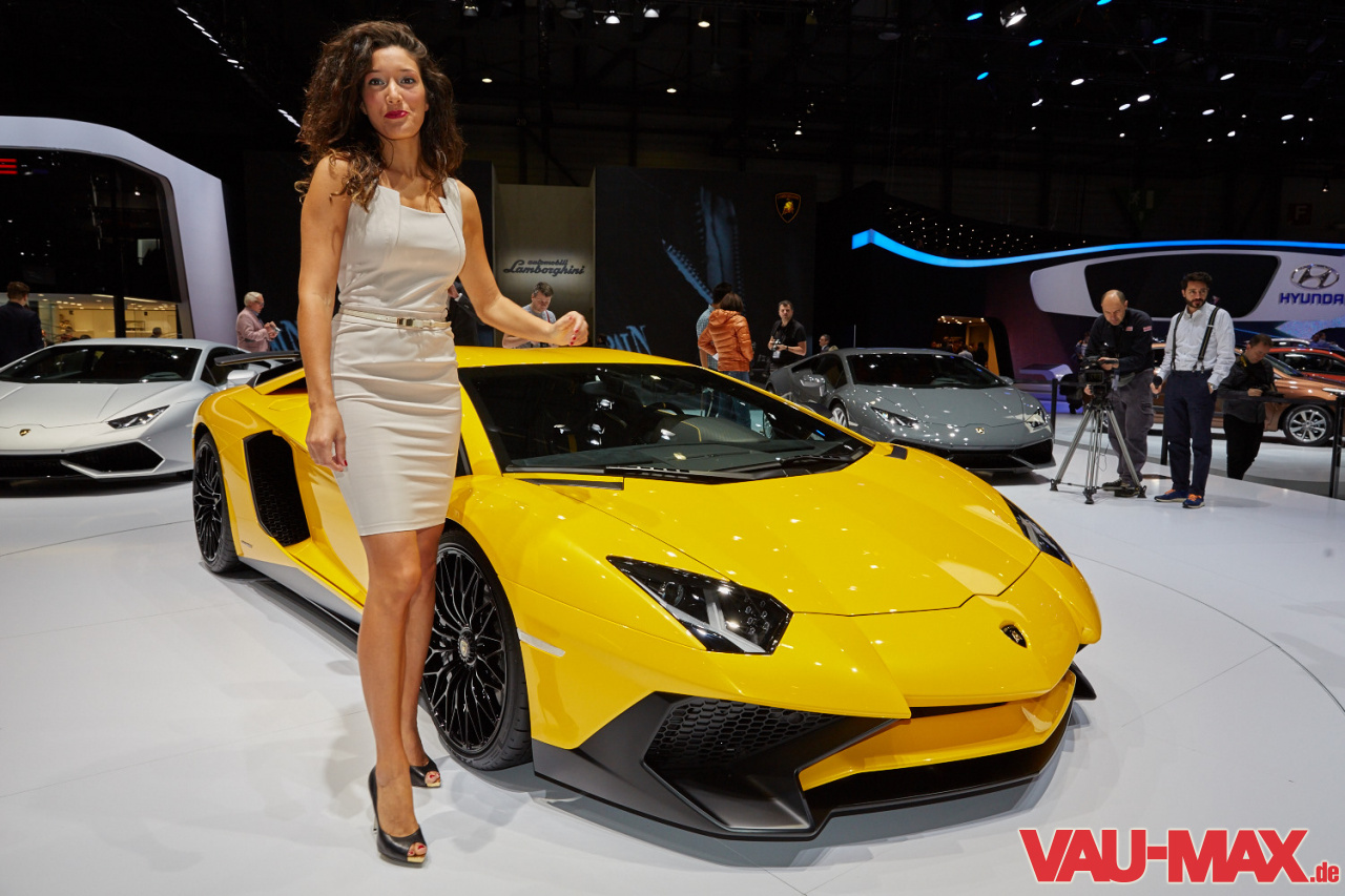 Die Highlights Vom Genfer Autosalon 2015 Messegirls Fotostrecke