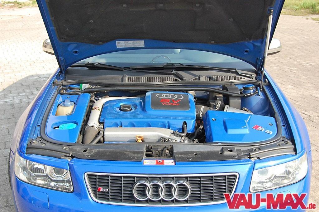 Dezenter Auftritt: Audi S3 8L: Blau und schlicht Audi A3 ...