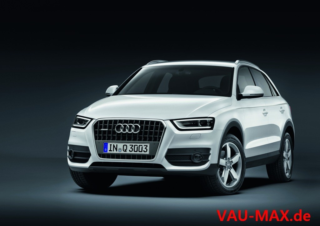 der neue audi q3 erste bilder des audi auf tiguan basis. Black Bedroom Furniture Sets. Home Design Ideas