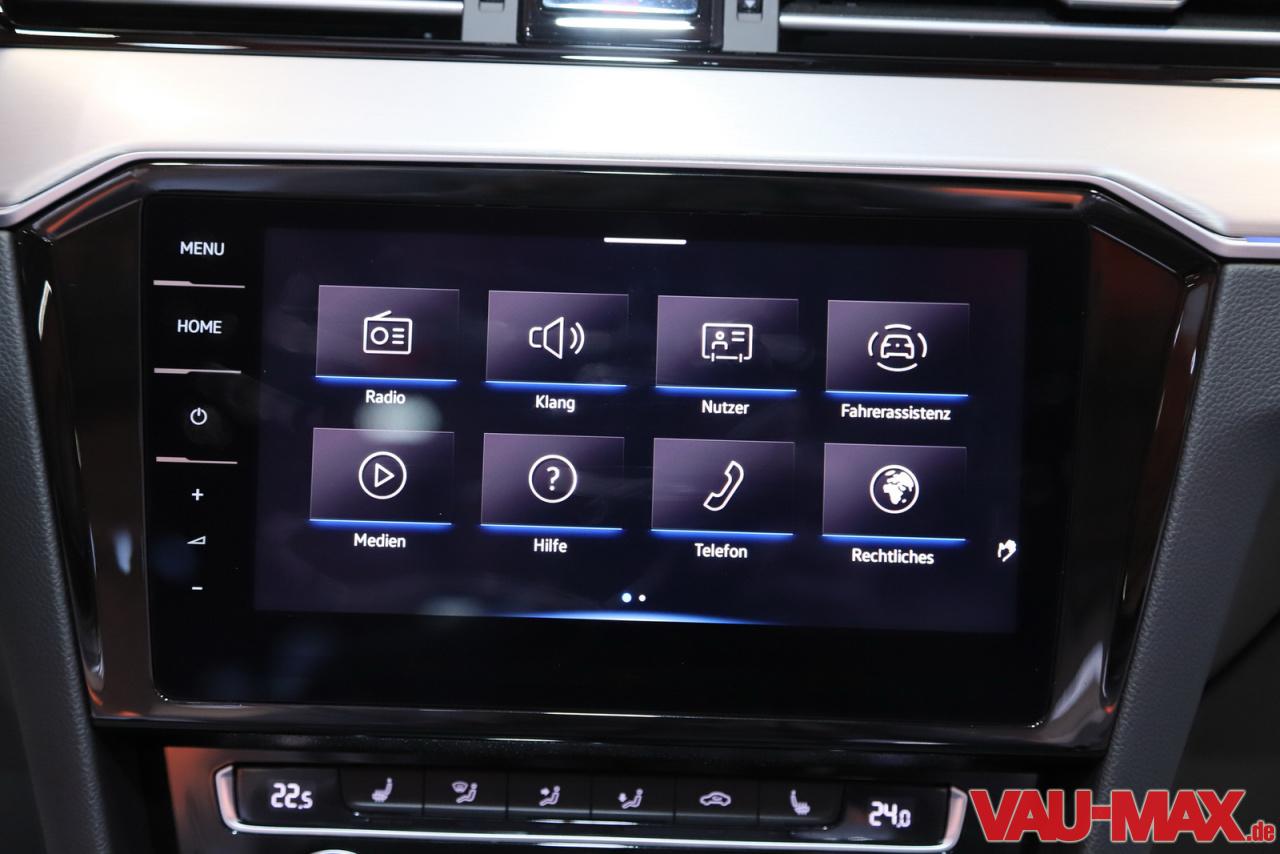 Eine Klasse Besser!: Die Bilder Zum Neuen VW Passat B8 GP