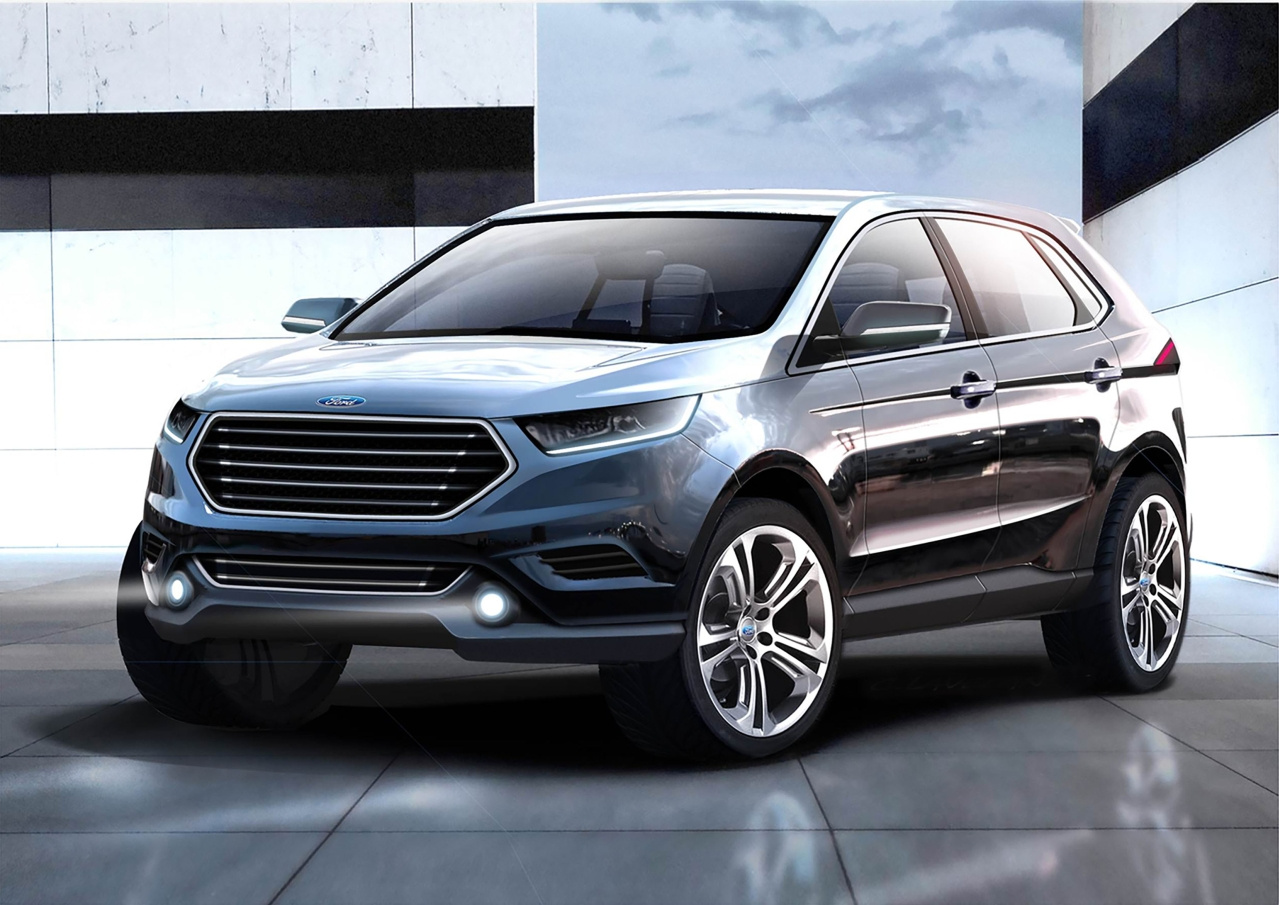 das kostet der neue ford edge neues suv top modell kommt nach europa fotostrecke vau max. Black Bedroom Furniture Sets. Home Design Ideas