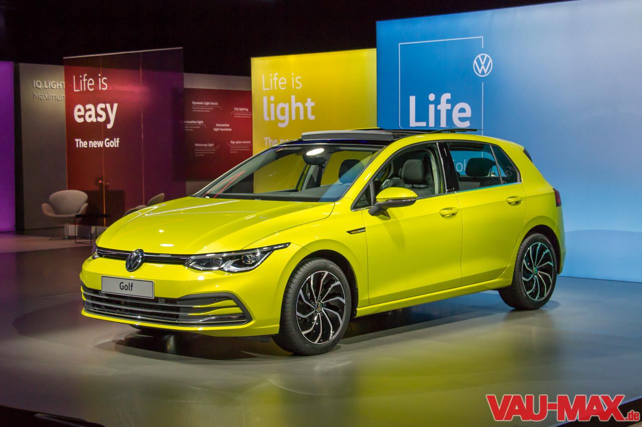 Die Bilder Zur Neuen Generation VW Golf VIII: Der Neue VW