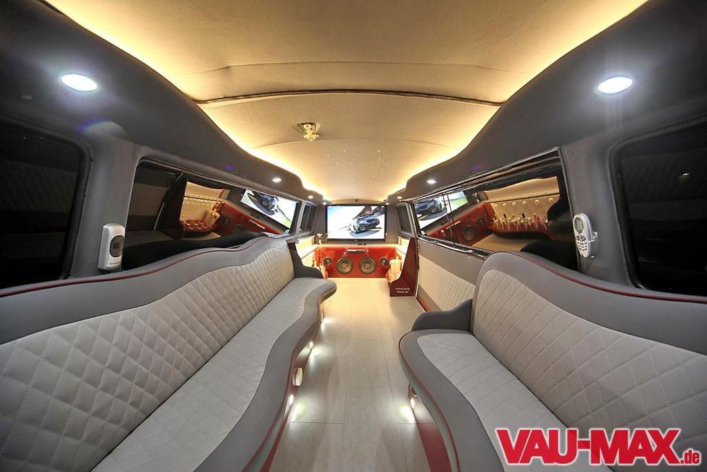 Welt längste innen von der limousine Die längste