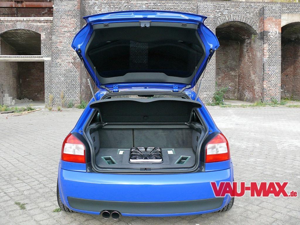 Dezenter Auftritt Audi S3 8l Blau Und Schlicht Audi A3 Optik Und Motor Tuning Fotostrecke