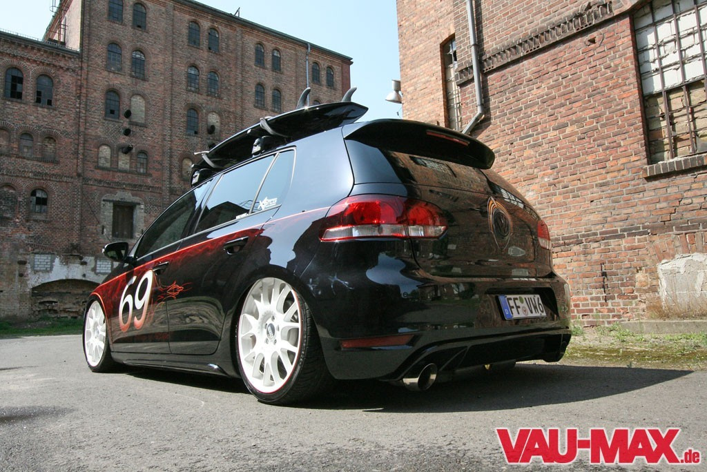 golf 6 gti deluxe tuning airride bbs felgen und coole. Black Bedroom Furniture Sets. Home Design Ideas
