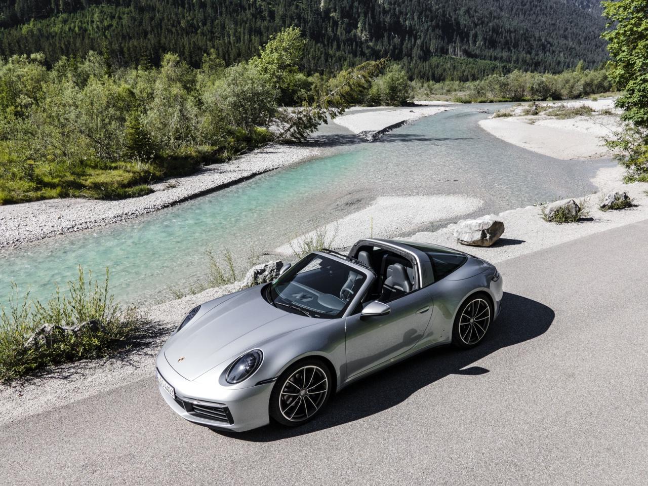 Fahrbericht: So fährt der Porsche 911 Targa 4S: Nichts