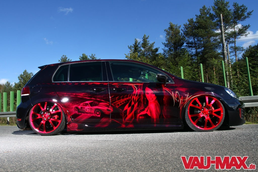 Two Face Neuauflage Des Golf 6 Gti 2 0 Tuning Hella Show