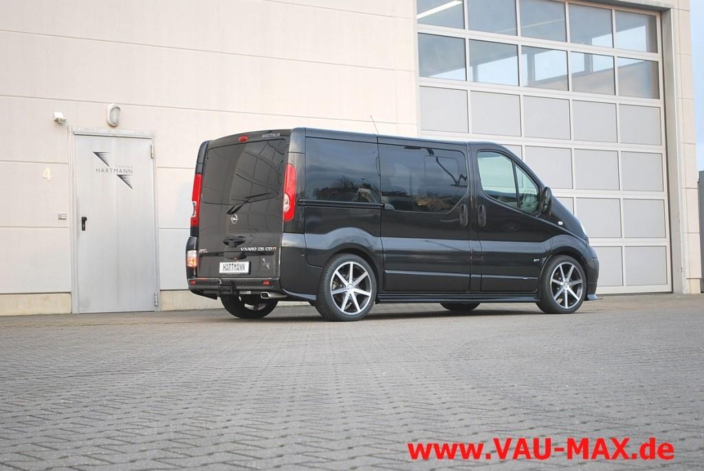 Opel Vivaro von Vansports by Hartmann Tuning: Hartmann ...
