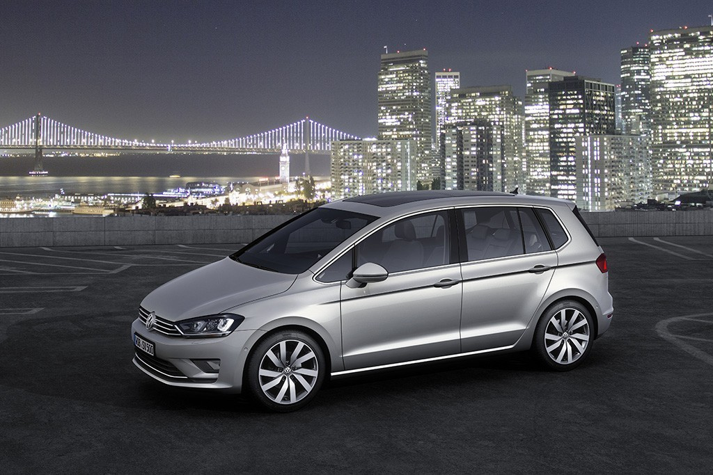 Golf Sportsvan : Volkswagen macht den neuen Golf plus zum Golf