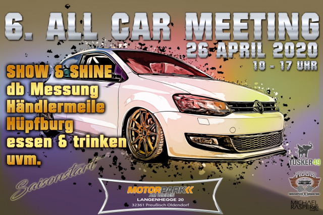 6.All Car Meeting am Motorpark