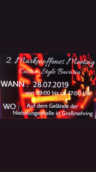 2.Markenoffenes Meeting