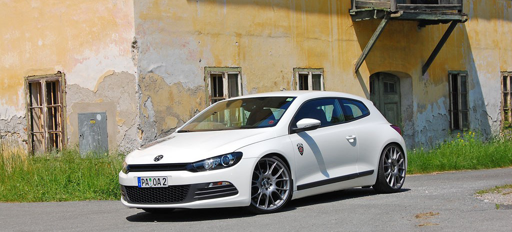 the white rocco rocket vw scirocco 3 tuning der feinen. Black Bedroom Furniture Sets. Home Design Ideas