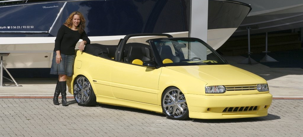 Girl S Best Friend Vw Golf 3 Cabrio Tuning Tuning F 252 Rs