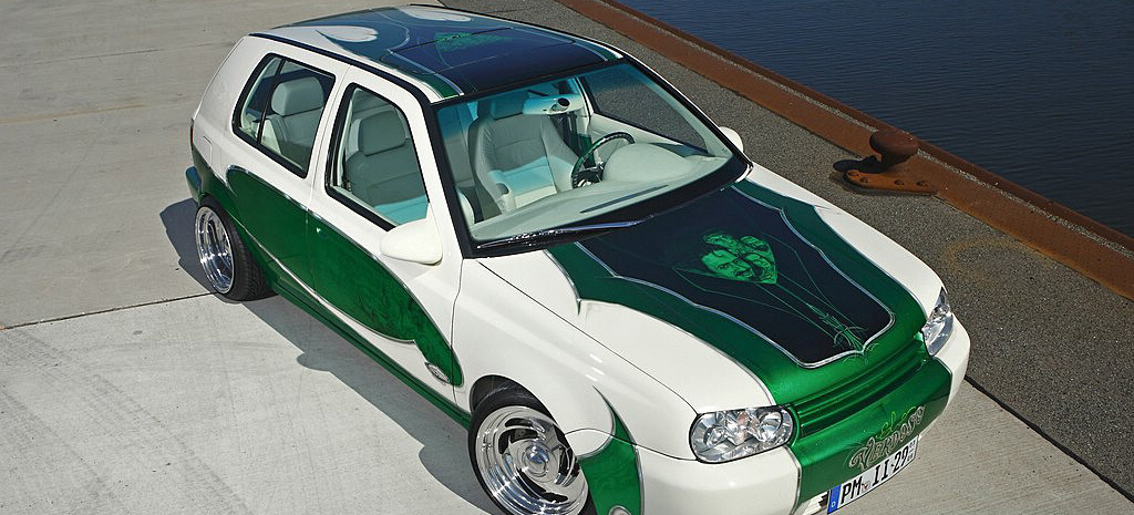 Legendenbildung Custom Tuning Am Vw Golf 3 Vr6 Der Golf Von Bj 246 Rn Hinz Ist Eine Hommage An Die