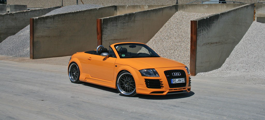 orangen kraft audi tt roadster wie f r den sommer. Black Bedroom Furniture Sets. Home Design Ideas