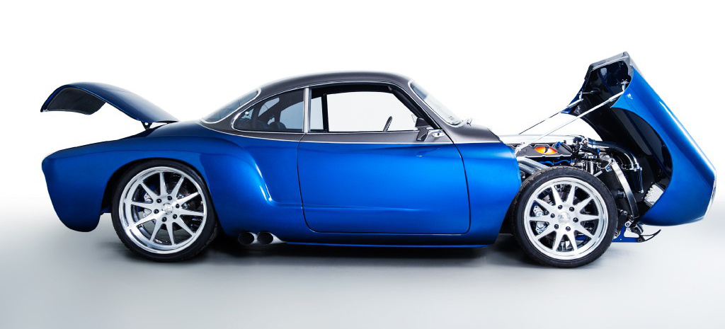 essen motor show vw karmann ghia blue mamba custom car. Black Bedroom Furniture Sets. Home Design Ideas