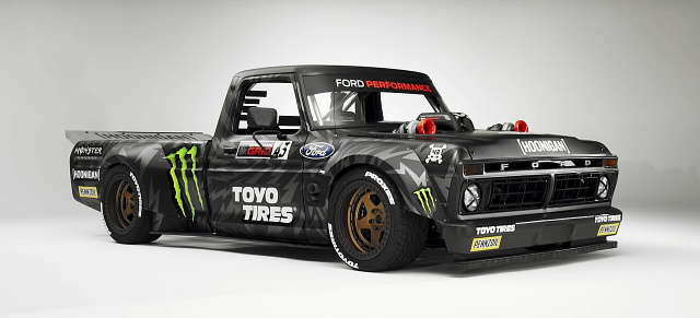 Hoonigan Truck: Ken Blocks 1977er Ford F150 Pickup