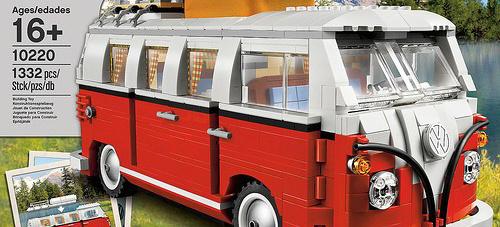 der vw t1 camper aus lego steinen zum selbst bauen lego legt bulli modell auf news vau max. Black Bedroom Furniture Sets. Home Design Ideas