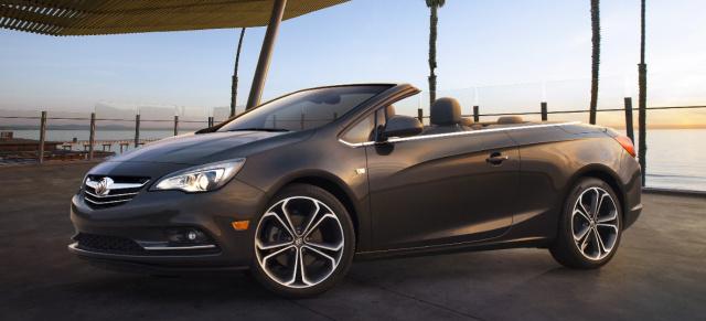 Alter Bekannter neuer Name Opel schickt sein Cabrio als Buick