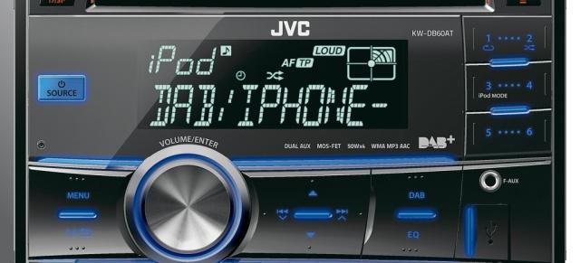 digitalradio erster dab doppel din receiver von jvc der. Black Bedroom Furniture Sets. Home Design Ideas