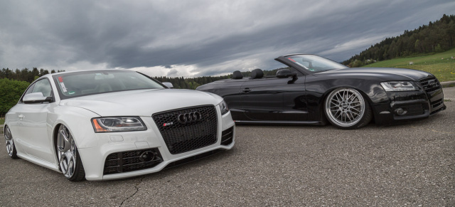 Audi Rs5 Audi A5 Cabrio Mehr Als Nur Schwarz Und Wei 223