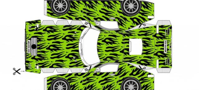 Tolle Idee: Mercedes AMG GT zum selbst Drucken und Basteln ...