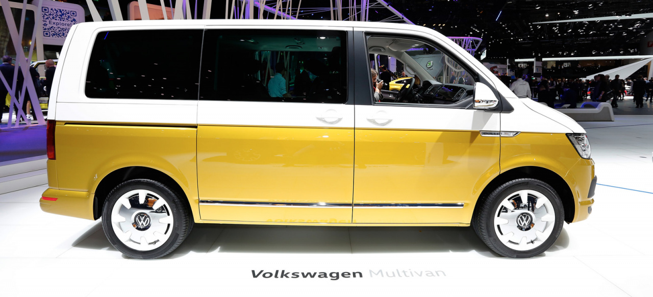 Genf 2017 Happy Birthday Bulli Volkswagen Feiert 70