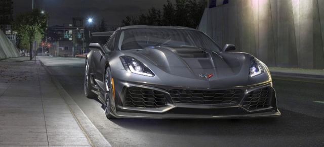 2019 Chevrolet Corvette ZR1: Bäm! Mit 766 PS ist das die ...