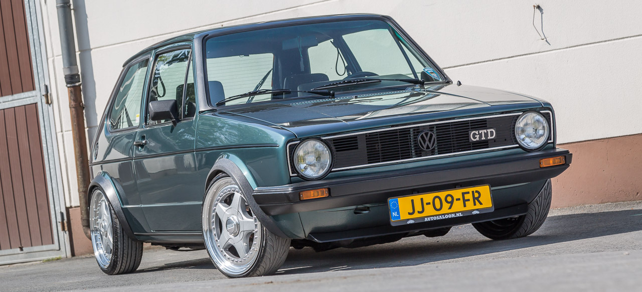 3f zeitmaschine mit turbodiesel 1983er vw golf 1 gtd. Black Bedroom Furniture Sets. Home Design Ideas
