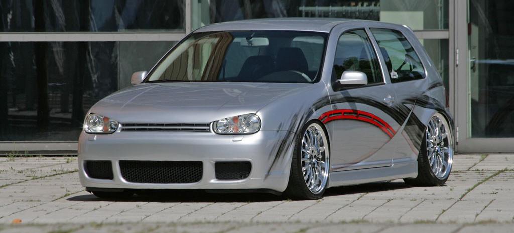 sport und style golf   tuning  liter golf mit airride und custom lackierung auto der