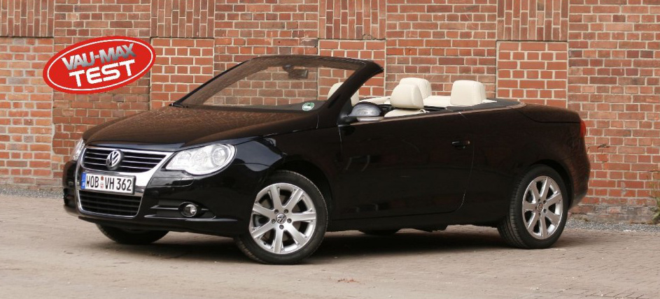 test vw eos sommer sonne cabrio 2008 der vw eos. Black Bedroom Furniture Sets. Home Design Ideas