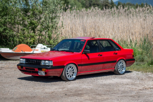 85 Shades of Grey: 1985er Audi 90 (Typ 85) mit 640 S2-Turbo-PS unter der Haube