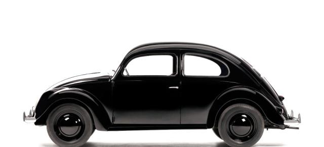 vw käfer prototyp vw38/06 feiert ein comeback: der erste brezelkäfer