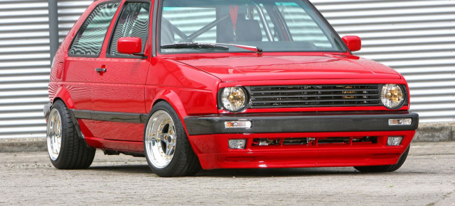 Code Red – Golf 2 G60 Carbon-Chrom Edition: Der totale Wahnsinn – das volle Programm am 1991er Zweier