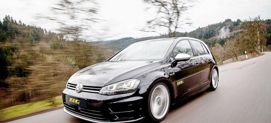 ST suspensions bietet Fahrwerkstuning für den neuen Golf R: Mit ST-Sportfedern und -Spurverbreiterungen noch zackiger um die Kurven