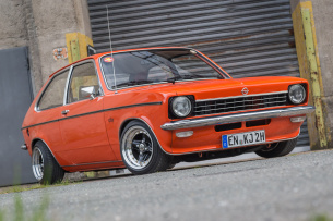Oldschool-Tuning am Oldie: Opel Kadett City dezent veredelt