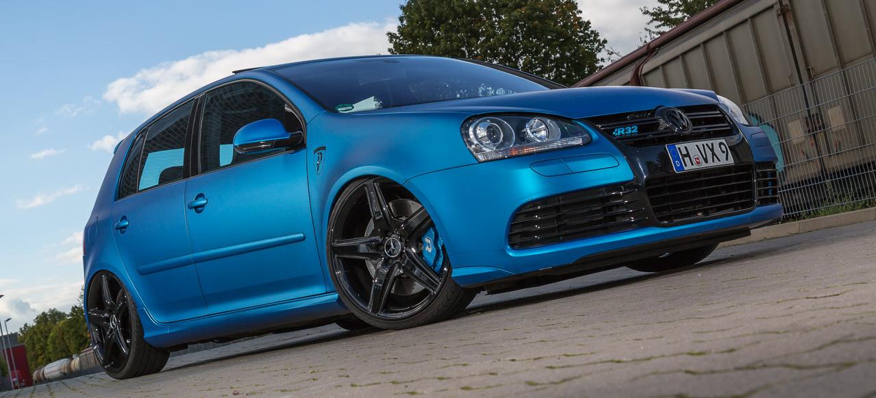 The Real Thing Vw Golf 5 R32 Macht Blau Auto Der Woche