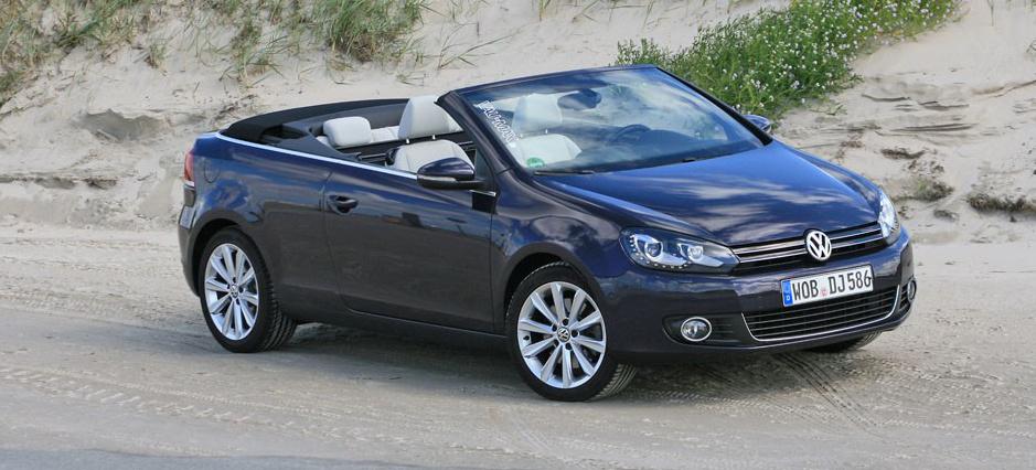 zukunftssicher fahrbericht zum vw golf 6 cabrio das 9. Black Bedroom Furniture Sets. Home Design Ideas